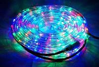 Лента светодиодная, LED  шланг RGB (Трехцветный), 18м, с контролером 220в  (7191), фото 1