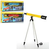 Телескоп 6609A (24шт) 53см, штатив 52см, увелич. в 60раз, 3цвета, в кор-ке, 62-22-8см