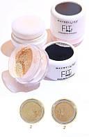 Пудра рассыпчатая Maybelline Fit me Exquisite Powder (ПАЛИТРА 2 шт №01,02)   0360, фото 1