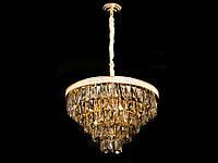Хрустальная люстра в классическом стиле  хром/золото 9311-600