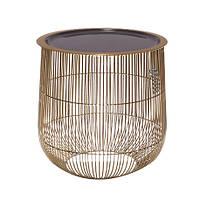 Столик декоративный серый s 31 см 109490-1, фото 1