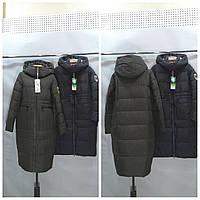 Женская куртка пуховик  ниже колена  (био пух) TOWMY 2239