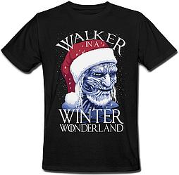 Футболка Game Of Thrones - Walker In A Winter Wonderland (чёрная)