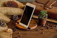 Органайзер из натурального дерева «Круг» оригинальный подарок прикольный