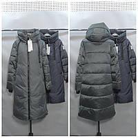Женская зимняя куртка пуховик    (био пух) LUSSKIRI 9728