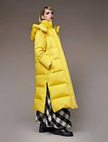 Мужская длинная зимняя куртка пуховик разных цветов (красный, оранжевый, желтый, зеленый...) ХС-12ххл