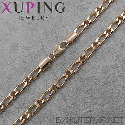 Цепочка  Xuping 45 см. 6 мм., фото 2