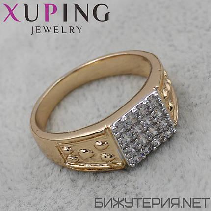 Перстень Xuping медицинское золото 18K Gold - 1025746989, фото 2