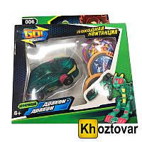 Машинка трансформер Дикий Скричер | Screechers