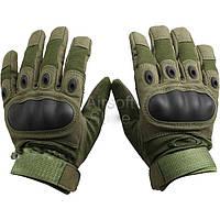 Тактические военные перчатки Oakley. Цвет олива M