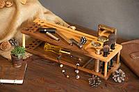 Органайзер из натурального дерева «Макияж» оригинальный полезный необычный подарок 8 марта