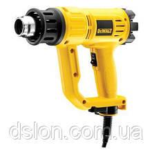 Пистолет горячего воздуха DeWALT D26411 1800Вт, 50-600 С, регул-ка, 2 насадки.