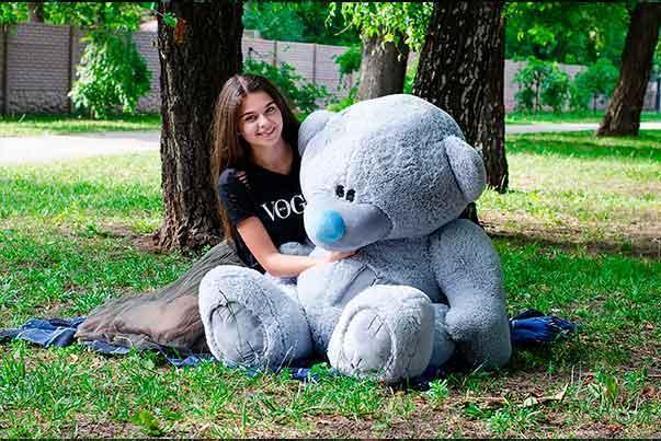 Плюшевый Мишка 180см.Большой  Мишка Потап игрушка Плюшевый медведь Мягкие мишки игрушки Ведмедик