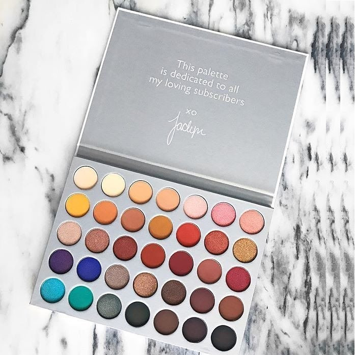 Тени для век Morphe The Jaclyn Hill Eyeshadow Palette (35 оттенков)