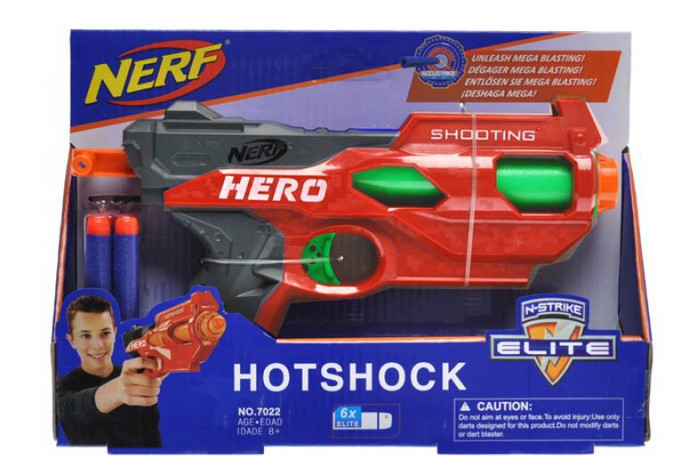 Бластер  NERF: Hotshock
