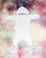 Костюм для мальчика Ангел-Мишка велюр