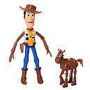 Набор фигурок Вуди и Буллзай из м/ф История игрушек, фото 2