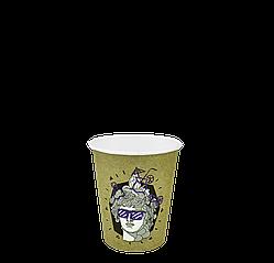 """Стакан бумажный """"ДИОНИС"""" 175мл. 50шт/уп (1ящ/20уп/1000шт) (КВ71/""""РОМБ"""" 71)"""