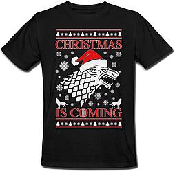 Футболка Game Of Thrones - Christmas Is Coming (чёрная)