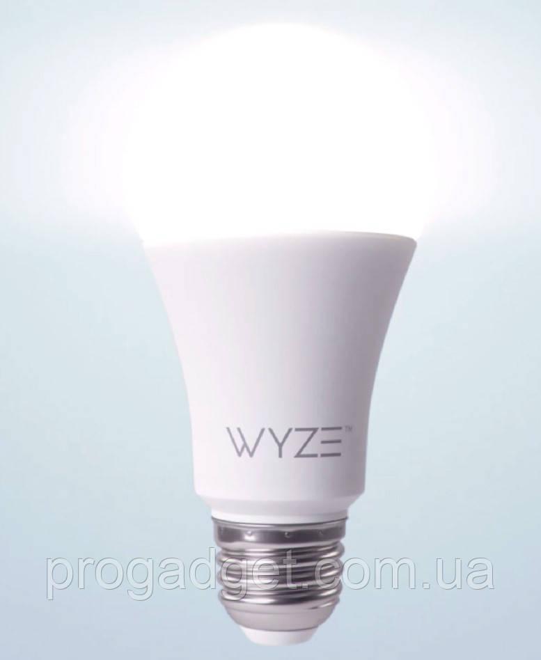 Умная светодиодная лампа Wyze Bulb LED WiFi с диммированием и изменением температуры свечения, 800 Lumen,9,5Вт