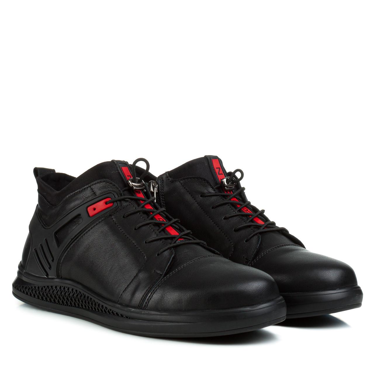 Ботинки мужские ZUMMER (стильные, качественные, зимние, натуральные)