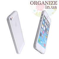 Чехол для Iphone 5 / 5S однотонный (белый)