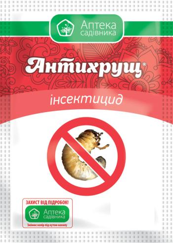 Инсектицид акарицид Антихрущ, 30 мл, Ukravit  контактно-кишечного действия, Средства защиты сада и огорода