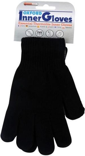 Термоперчатки Oxford Inner Gloves Knit Thermolite Blk L/XL