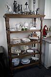 Витринная деревянна полка стеллаж, фото 3
