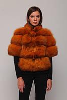 Куртка из меха лисы