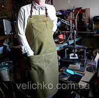 Фартук официанта флориста плотная ткань, фото 1