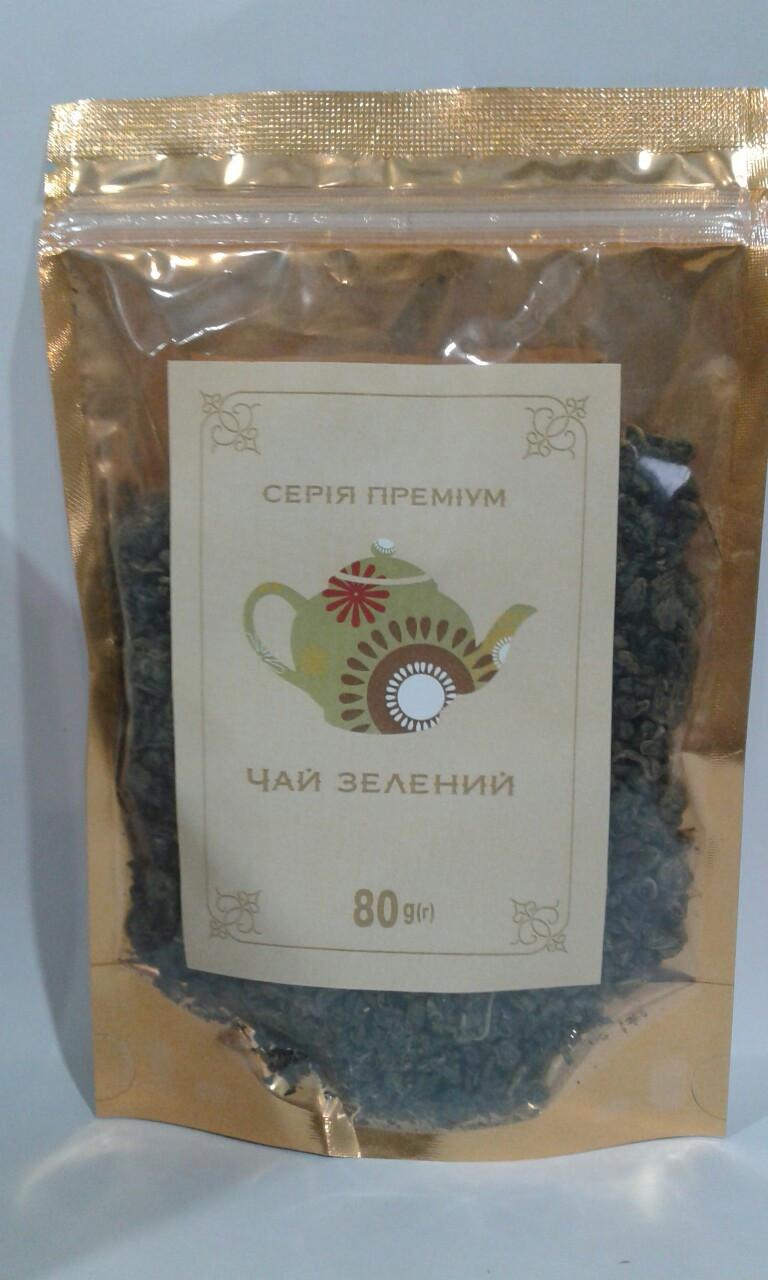 """Чай зелёный """"Premium"""" 80 г"""