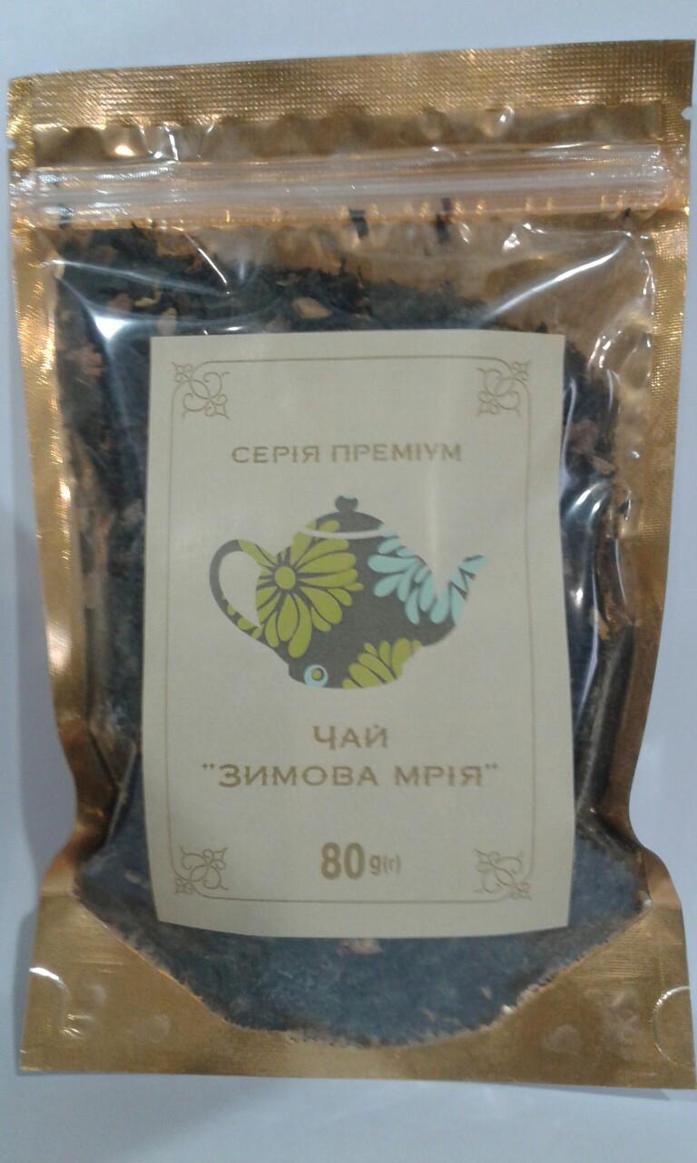 """Чай """"Зимняя мечта"""" """"Premium"""" 80 г"""