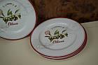 Біла керамічна тарілка, фото 3