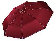 Женский зонт Три Слона с тесьмой ( полный автомат ) арт.107-6