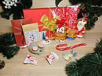 """Новогодний подарочный набор """"Santa Surprise"""" с именным поздравительным письмомльным письмом"""
