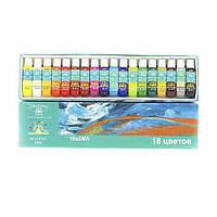 Набор акриловых красок Global Professional 18 штук