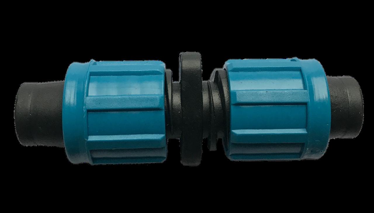 Соединение для капельной ленты с поджимом SV, упаковка 50 шт.