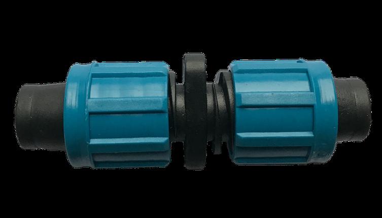 Соединение для капельной ленты с поджимом SV, упаковка 50 шт., фото 2