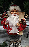 Дед Мороз Лесовой с лыжами 40 см, фото 2