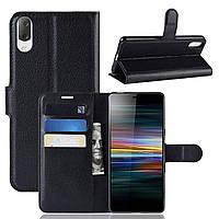 Чехол-книжка Litchie Wallet для Sony Xperia L3 / L4312 Черный