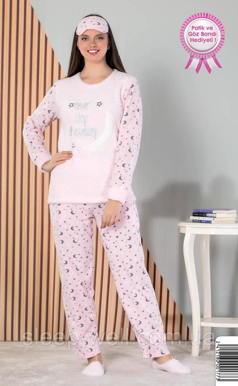 Тёплая пижама флисовая, велсофт
