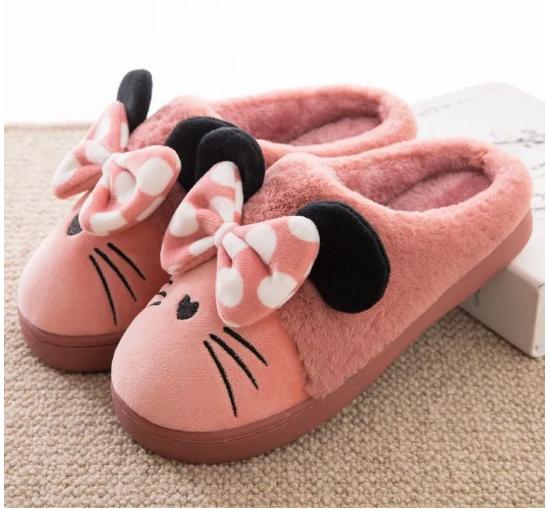 "Тапочки женские "" Мышки """