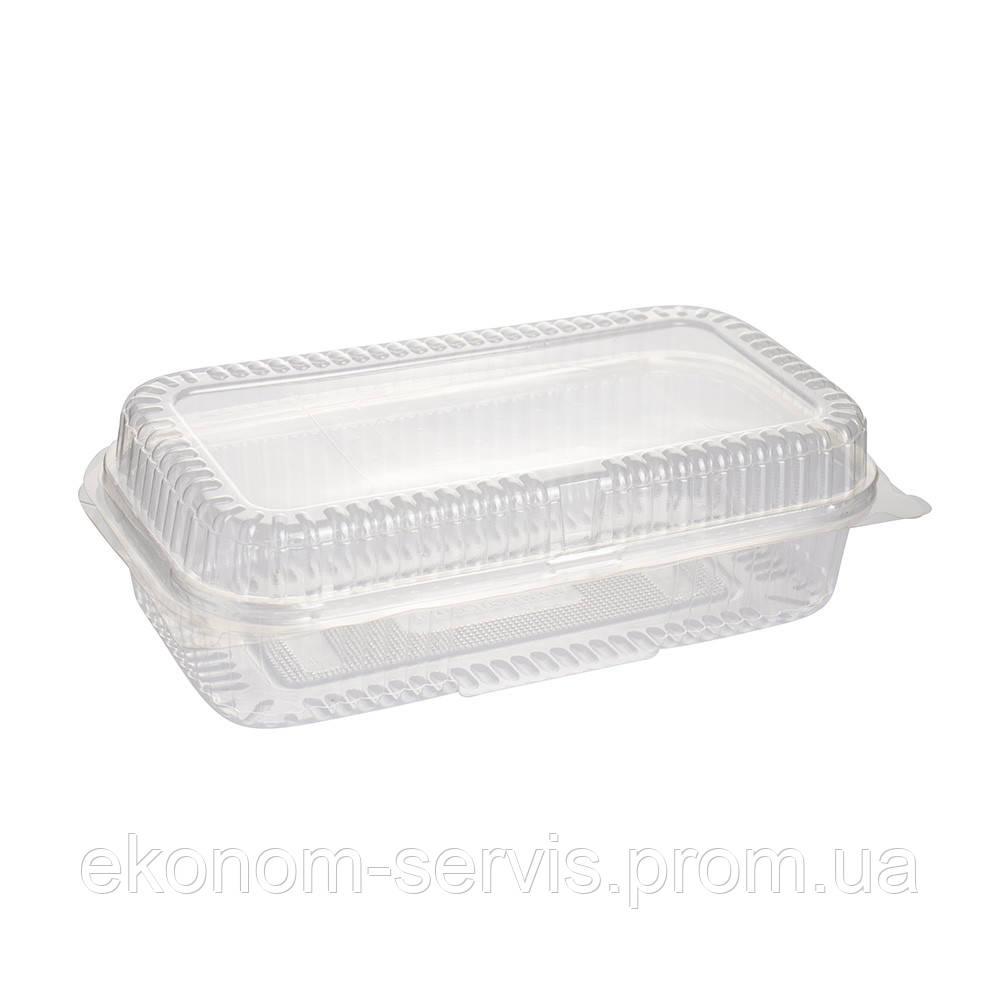 Контейнер пластиковий ПГУ 1637мл.13*23*6,8 см, 100шт