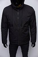 Куртка мужская зимняя Yohji Yamamoto Chs Soft Shell 1955 черная