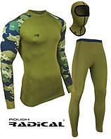 Спортивный комплект термобелья мужской Radical Shooter теплый, хаки, фото 1