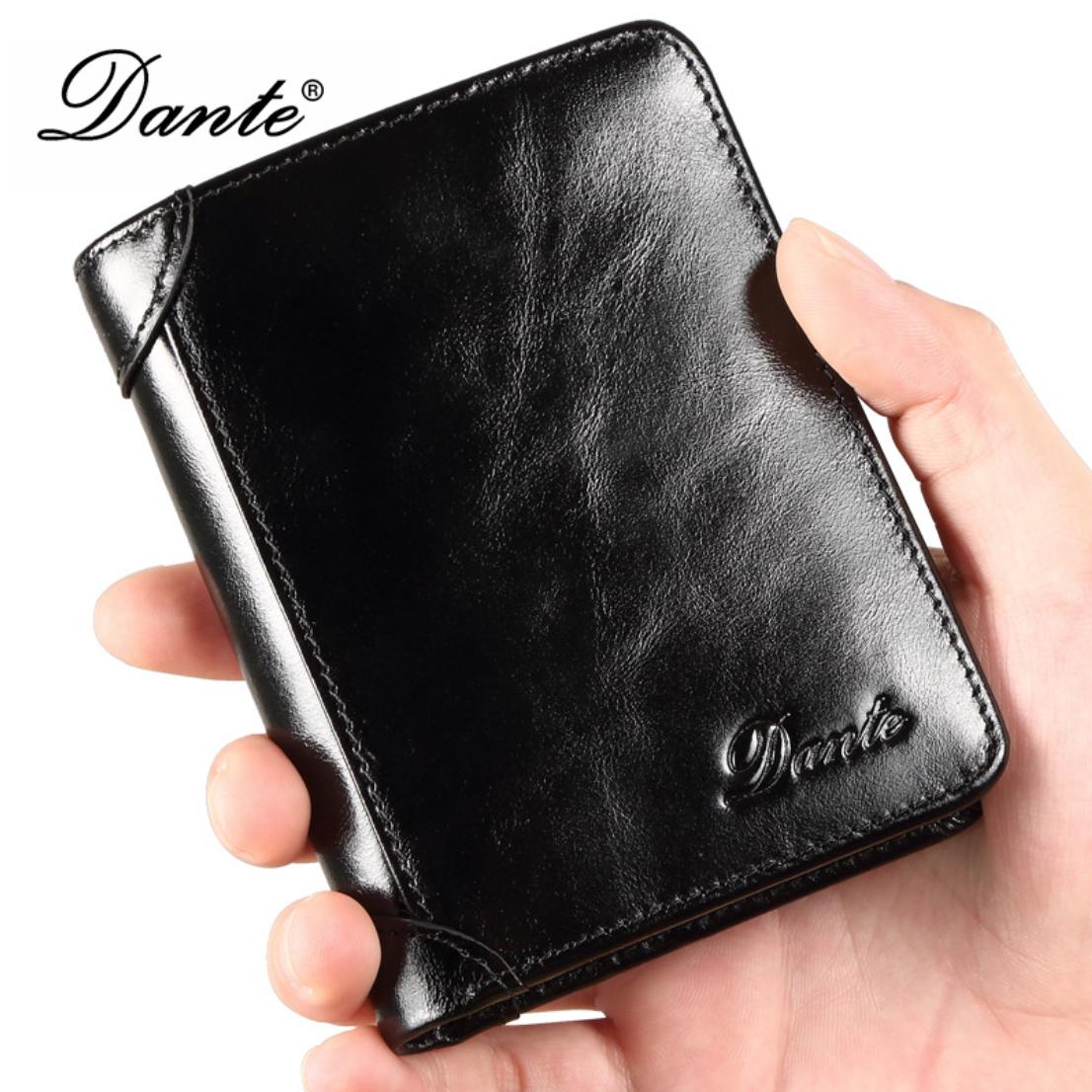 Мужской кошелек Dante  черный
