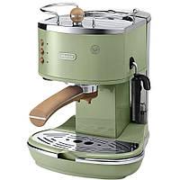 Рожковая кофеварка эспрессо Delonghi Icona Vintage ECOV 311.GR