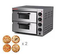 Электрическая печь для пиццы 4+4х20 GoodFood PO2