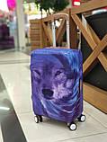 Чехол для чемодана Волк, фото 3